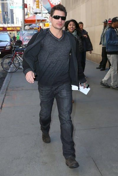 Nick Lachey - Nick Lachey Out and About in NYC