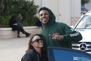 Nick Young Nick Young Shops At Barneys New York In Beverly Hills