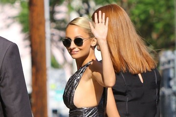 Nicole Richie Celebrities Make an Appearance on 'Jimmy Kimmel Live!'