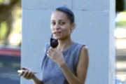 Nicole Richie Is All Smiles In Studio City