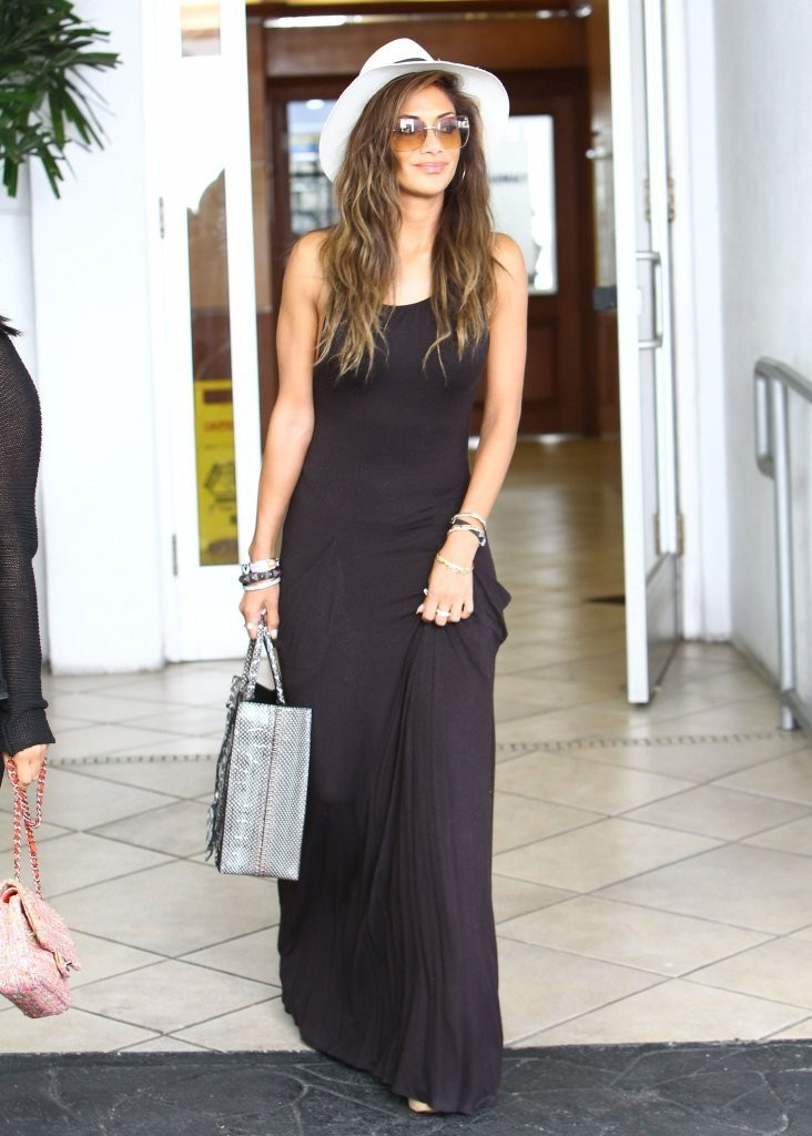 Nicole Scherzinger Lunches In Beverly Hills