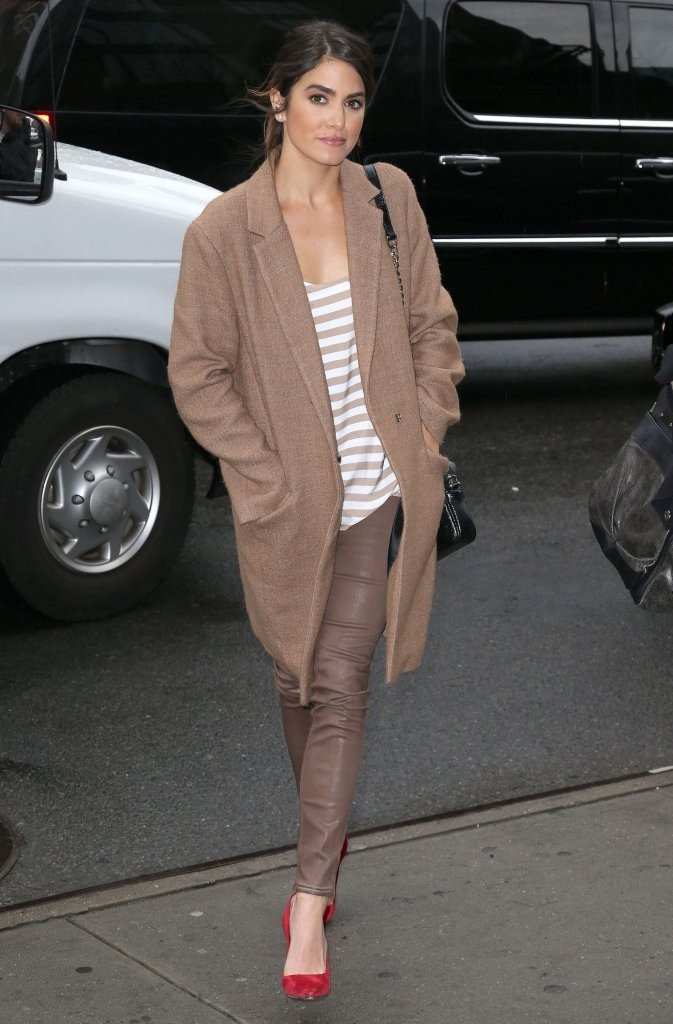Nikki Reed Arriving At Her New York Hotel