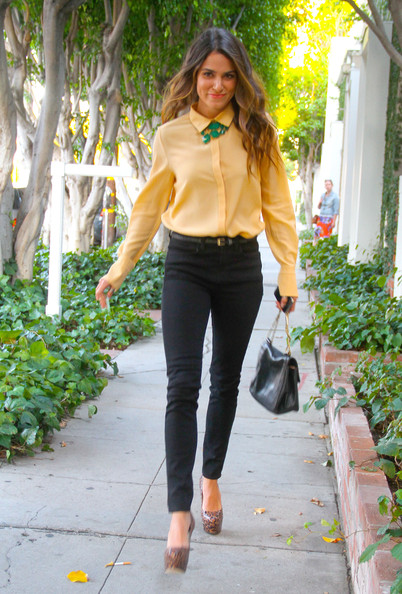 Nikki Reed - Nikki Reed Heads To A Private Party