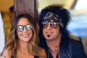 Nikki Sixx & Courtney Bingham Out For Lunch In NYC