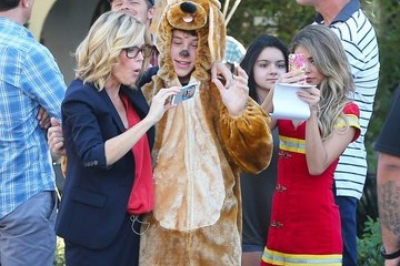 Nolan Gould 'Modern Family' Films Their Halloween Episode