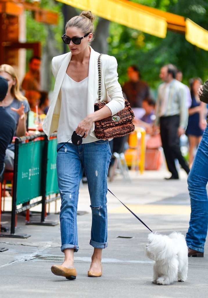 Olivia Palermo - Olivia Palermo Walks Her Dog in NYC — Part 2