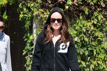 Olivia Wilde Olivia Wilde Heads to the Gym
