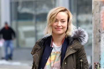 Olivia Wilde Stars Perform on the Set of 'Life Itself' in NYC