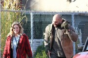 Brittany Snow and Dave Bautista Photos Photo