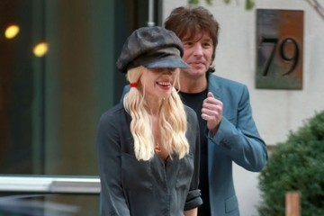 Orianthi Panagaris Richie Sambora & Orianthi Panagaris Step Out in NYC