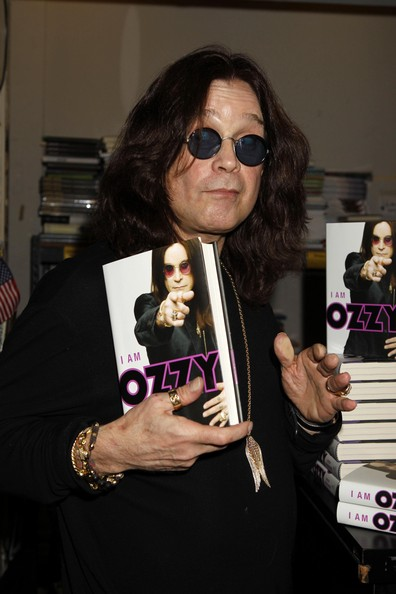 Musician Ozzy Osbourne signing copies of his new book 'I Am Ozzy' at Book Soup in West Hollywood, CA.