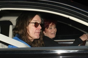 Ozzy Osbourne Celebrities Dine Out At Craig's Restaurant