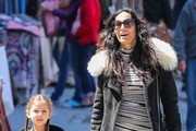 Padma Lakshmi Out For a Stroll in NYC