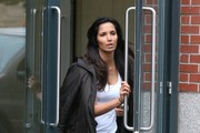 Padma Lakshmi Gets Her Workout In