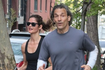 Paolo Mastropietro Jill Hennessy & Paolo Mastropietro Out For A Jog In NYC
