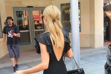 Paris Hilton Paris Hilton Running Errands In Beverly Hills