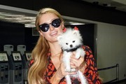 Paris Hilton Touches Down at LAX