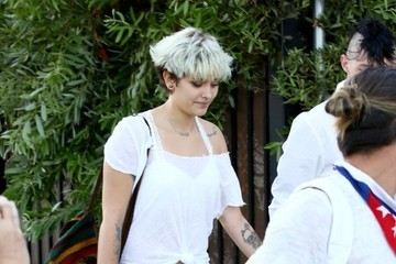 Paris Jackson Celebrities Seen At A Private Party At Nobu