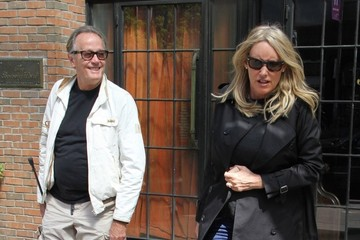 Parky DeVogelaere Peter Fonda Out With His Wife in NYC