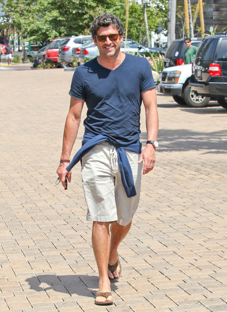 Patrick Dempsey Photos Photos Patrick Dempsey Out Shopping In