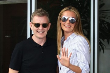 Patrick Kielty Cat Deeley and Patrick Kielty Go Out for Lunch in Beverly Hills