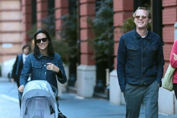 Paul Bettany Jennifer Connelly Out with Her Family