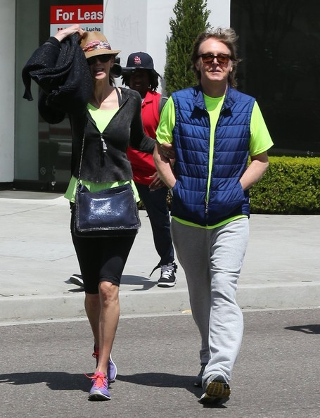 Paul McCartney - Paul McCartney and Nancy Shevell Get Lunch