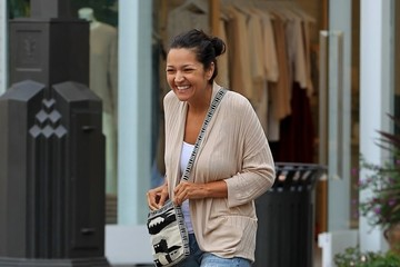 Paula Garces Paula Garces Takes Her Family To The Grove In Hollywood