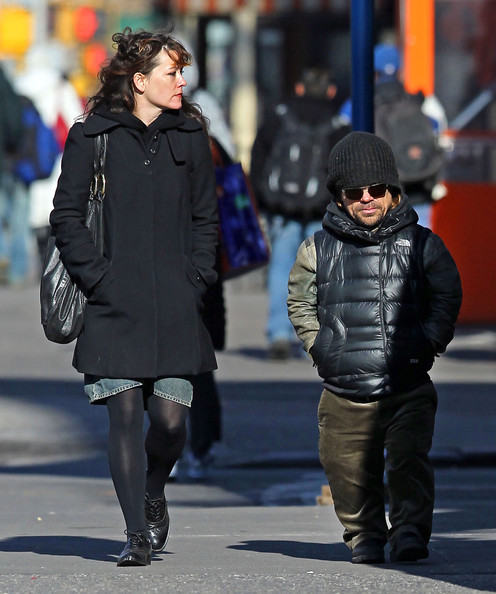 Peter Dinklage And Wife Erica Out For A Stroll In New York ...
