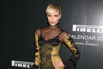 Natasha Poly The Pirelli Gala Dinner In New York