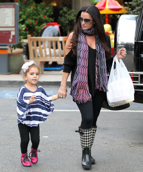 Portia Umansky Photos Photos Kyle Richards And Daughter