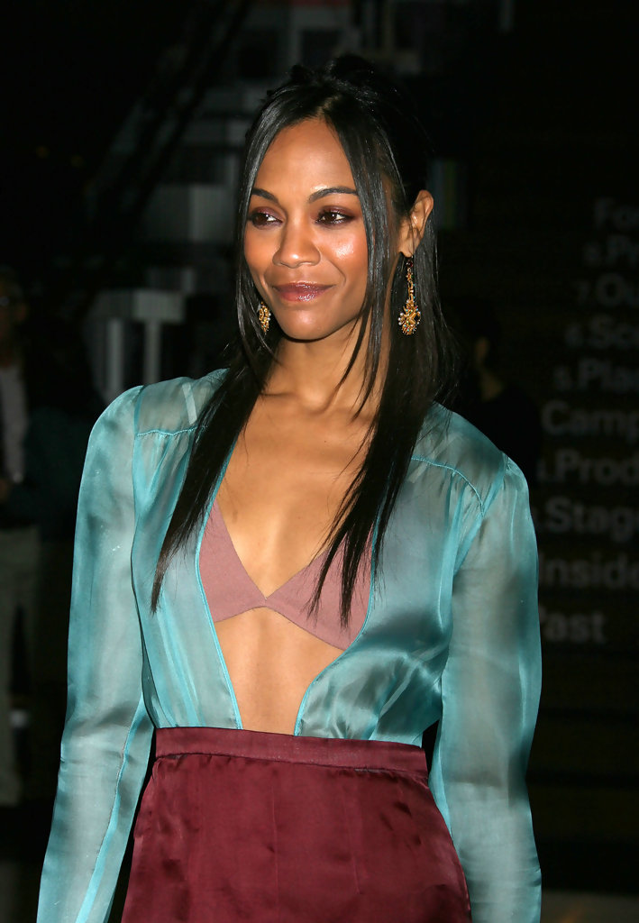 Zoe Saldana Photos Photos - Prada Book Launch Cocktail In ...