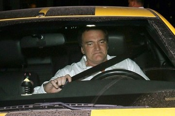 Quentin Tarantino Quentin Tarantino Grabs Dinner at Mr Chow