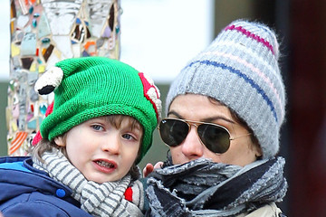 Henry Aronofsky Rachel Weisz And Son Henry Out For A Walk In Manhattan