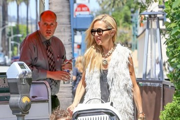 Rachel Zoe Kaius Berman Rachel Zoe Shops With Her Son In Beverly Hills