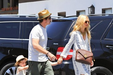 Rachel Zoe Kaius Berman Rachel Zoe and Her Family Grab Lunch in LA