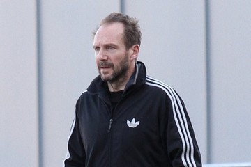 Ralph Fiennes Ralph Fiennes Out For A Walk In NYC