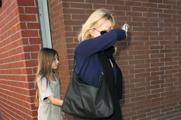 Rebecca De Mornay Rebecca De Mornay Hiding Her Face From The Cameras