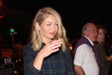 Rebecca Gayheart Celebrities Dine Out at Craig's Restaurant