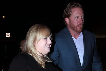 Rebel Wilson Celebs Dine Out At Craig's In West Hollywood