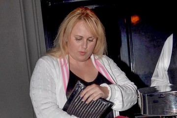 Rebel Wilson Rebel Wilson Leaves Craig's Restaurant In LA