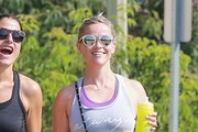 Reese Witherspoon Leaves a Dance Class in Brentwood