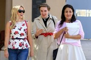 Reese Witherspoon, Lena Dunham, and Jennifer Konner Leave a Meeting in Beverly Hills