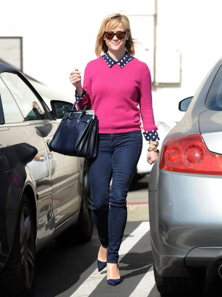 'The Good Lie' actress Reese Witherspoon spotted out for lunch at the Tavern Restaurant in Brentwood, California on February 8, 2014.