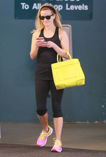 Reese Witherspoon Is All Smiles At Her Ballet Class