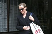 Reese Witherspoon Steps Put In All Black In NYC