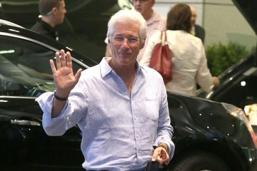Richard Gere Celebs Spotted Out And About In Toronto
