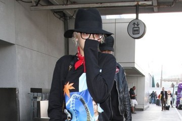 Ricky Hil Rita Ora and Ricky Hil Arrive at LAX