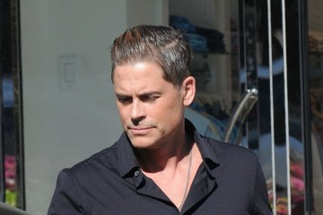 Rob Lowe Rob Lowe Goes Out for Lunch in Beverly Hills
