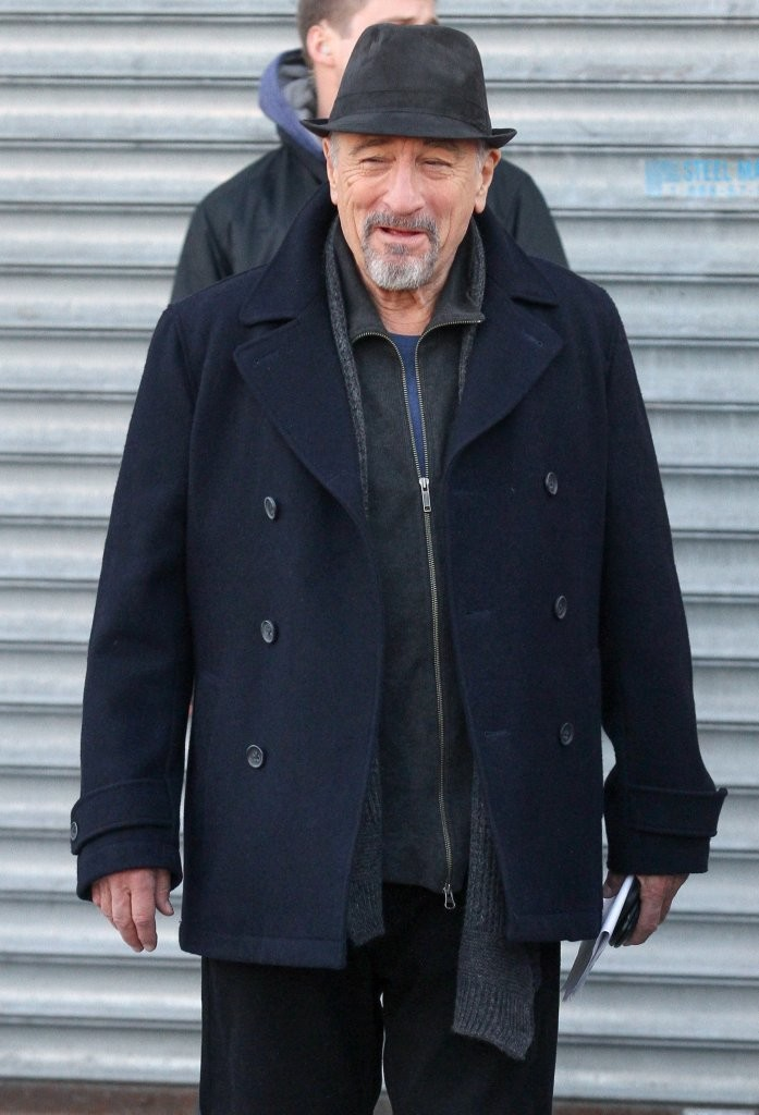 robert deniro danny devito film in queens zimbio. Black Bedroom Furniture Sets. Home Design Ideas